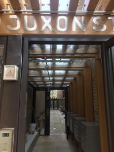 Juxon entrance