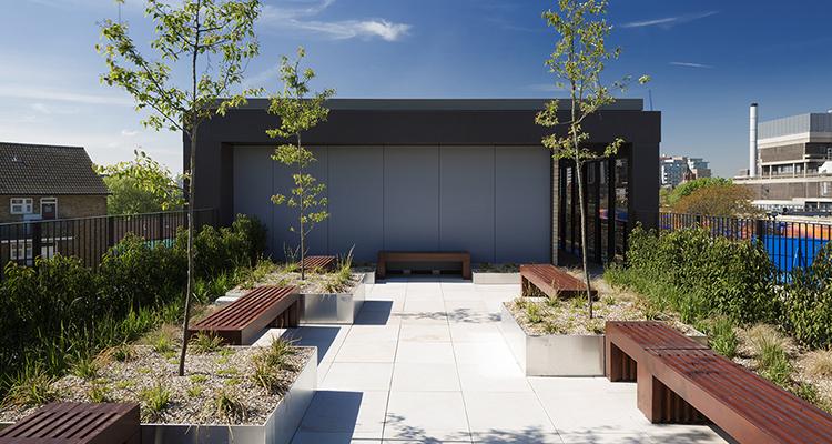 Rooftop-terraces